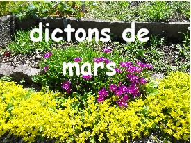 dictons_mars